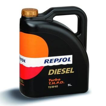 Repsol Diesel Turbo 5lt 10w40 λιπαντικό