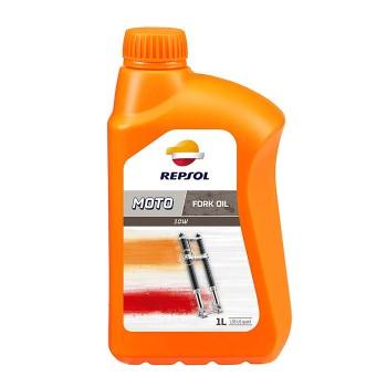 Repsol Moto Fork Oil 1lt 10w υδραυλικό λάδι