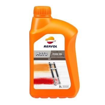 Repsol Moto Fork Oil 1lt 5w υδραυλικό λάδι