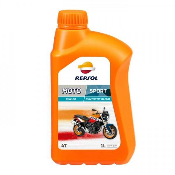Repsol Moto Sport 4T 1lt 15w50 λιπαντικό