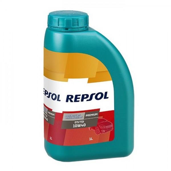 Repsol Premium GTI/TDI 1lt 10w40 λιπαντικό