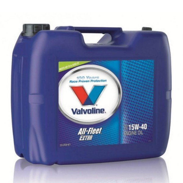 Valvoline All Fleet Extra 20lt 15w40 λιπαντικό